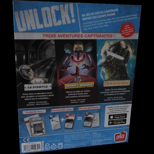 Unlock 1 Escape Adventures